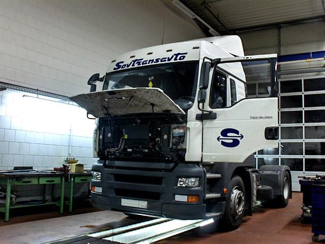 Truck Wieser MAN