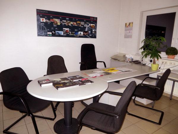 Verkaufsbüro MAN-Neufahrzeuge in der Wieser GmbH